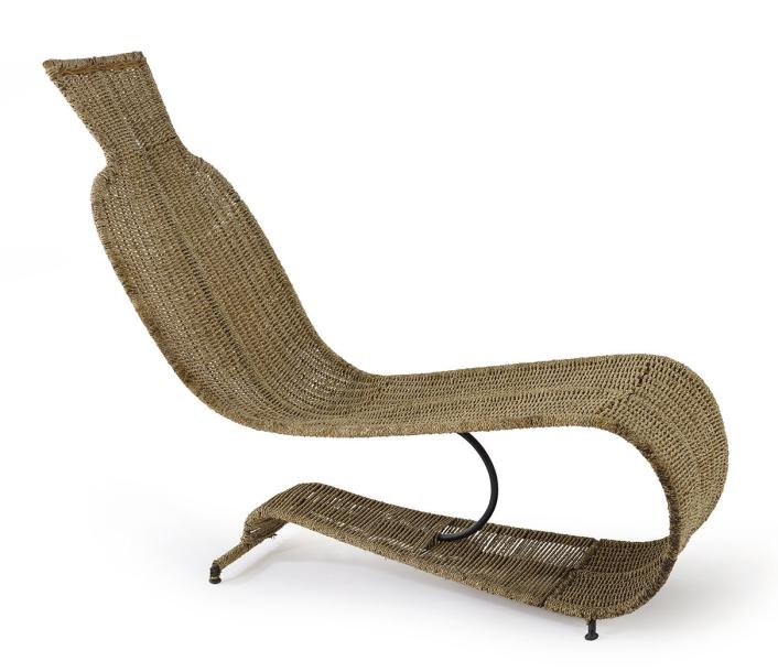 TOM DIXON N EN 1959 CHAISE LONGUE BOLIDE Structure En Tiges De