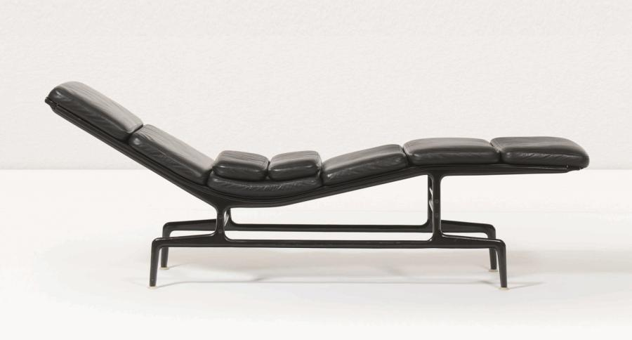 CHARLES EAMES RAY Softpad ES106 Chaise Longue Billy Wilder Cuir