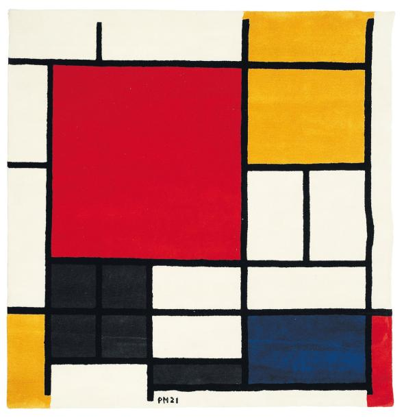 piet mondrian composition en rouge jaune et bleu 1921. Black Bedroom Furniture Sets. Home Design Ideas