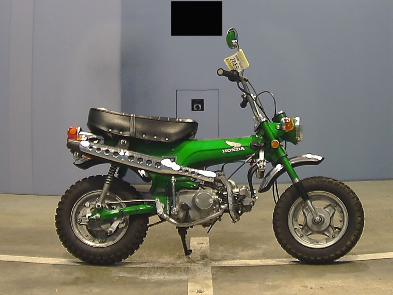 honda dax st 70 1983 n s rie 4011467 type mine st70 3 425 kms. Black Bedroom Furniture Sets. Home Design Ideas