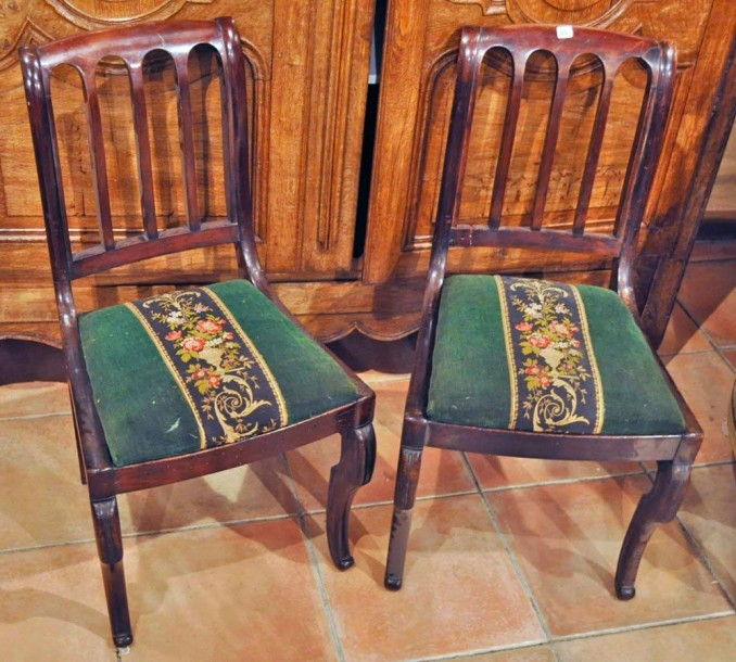 2 Chaises Style Anglais