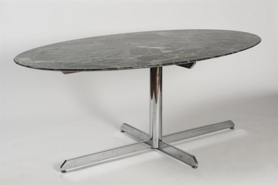 Table Ovale Marbre Roche Bobois