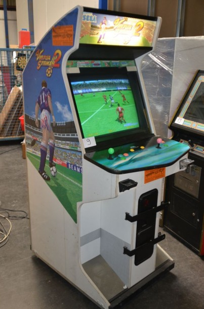 borne arcade virtua striker
