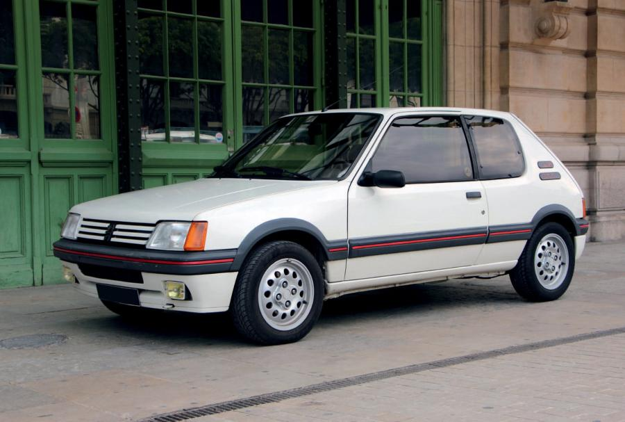 1987 peugeot 205 gti 1 6 1 re main dossier impressionnant totalement. Black Bedroom Furniture Sets. Home Design Ideas