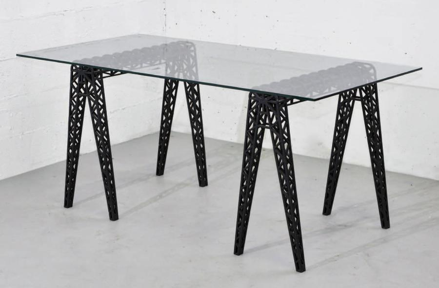 fran ois azambourg table tr teaux very nice 2004 prototype de l 39 dition. Black Bedroom Furniture Sets. Home Design Ideas