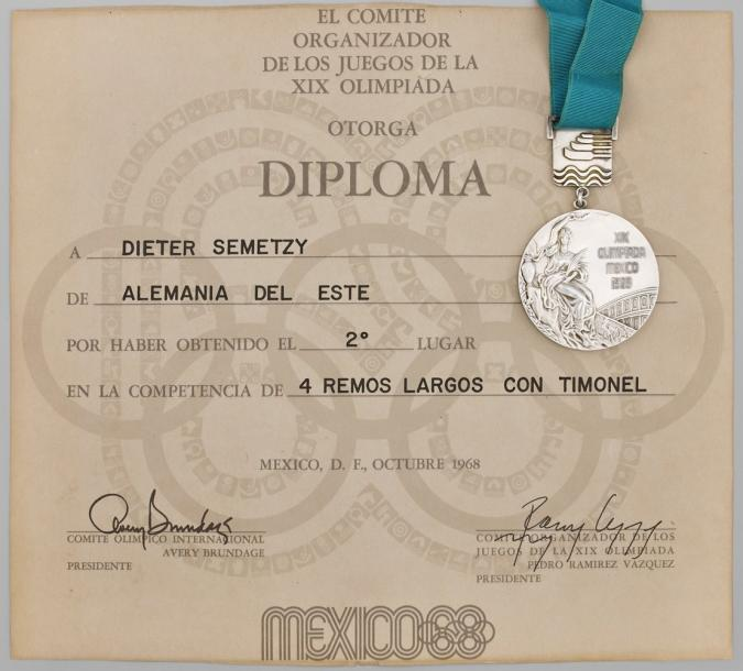 diplome jeux olympiques