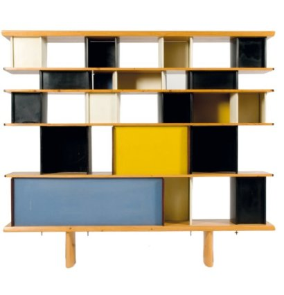 ventes aux ench res paris charlotte perriand ateliers jean prouve 1903 1999 biblioth que. Black Bedroom Furniture Sets. Home Design Ideas