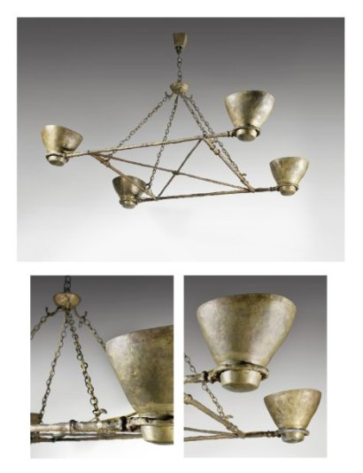 Ventes aux ench res paris diego giacometti 1902 1985 for Lustre ou suspension
