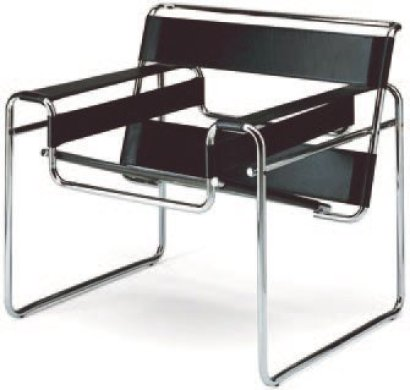 ventes aux ench res paris marcel breuer 1902 1981 r dition fauteuil wassily ou b3 etat d. Black Bedroom Furniture Sets. Home Design Ideas