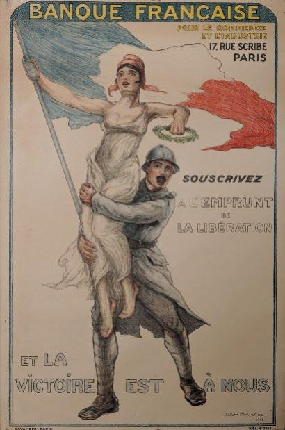 WILLIAM MALHERBE 1918 BANQUE FRANCAISE POUR LE COMMERCE ET L'INDUSTRIE ...