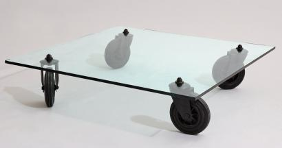 Table Verre Gae Aulenti