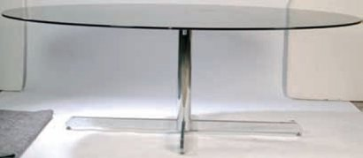 table verre knoll