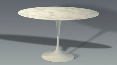 Ventes Aux Ench 232 Res Paris Eero Saarinen 1910 1961 Table Tulipe Blanche 224 Pi 233 Tement En Fonte D