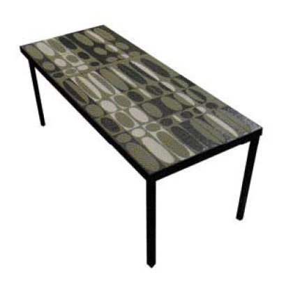 ventes aux ench res paris roger capron table basse. Black Bedroom Furniture Sets. Home Design Ideas