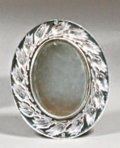 Ventes aux ench res paris lalique france petit miroir for Miroir paris france