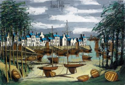 Ventes aux ench res paris bernard buffet 1928 1999 port for Bernard buffet vente