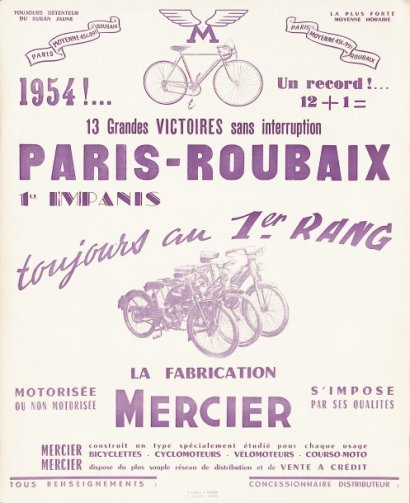 ventes aux ench res paris cyclisme 2 affiches pour les. Black Bedroom Furniture Sets. Home Design Ideas
