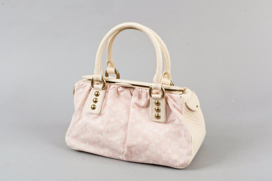Louis VUITTON par Marc Jacobs Collection Croisière 2006 Sac « Trapèze » 29 cm en…