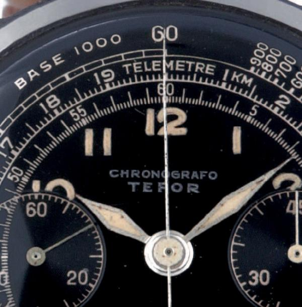TEFOR CHRONOGRAPH, STEEL Tefor, chronograph, n° 501284 Made circa 1960 Fine and rare,…