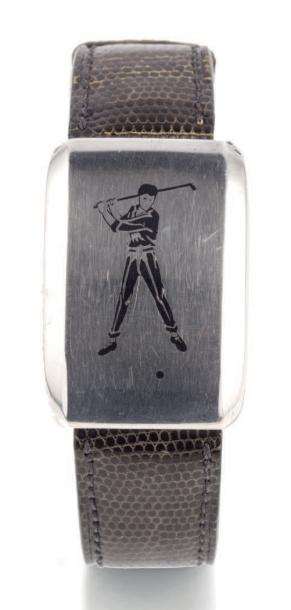 TIFFANY & CO GOLF SILVER Tiffany & Co, Golf. case n° 202539. Made circa 1940 Fine…