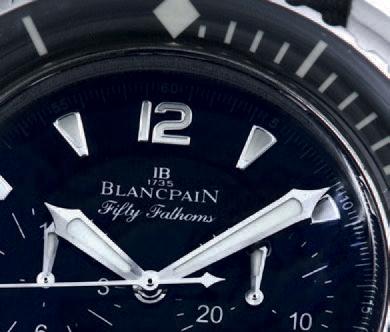 BLANCPAIN FIFTY FATHOM'S CHRONOGRAPH FLYBACK STEEL Blancpain, Fifty Fathoms Flyback…
