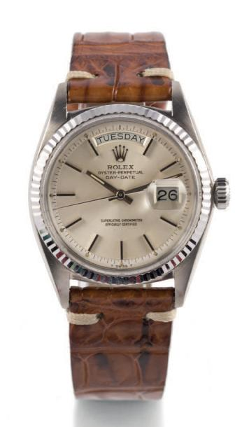 ROLEX DAY DATE, REF. 1803, WHITE GOLD Rolex, Oyster Perpetual, Day-Date, case No.…