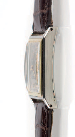 PATEK PHILIPPE RECTANGULAR WHITE AND YELLOW GOLD Patek Philippe, rectangular, case…