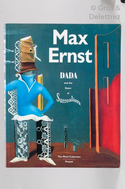 CAMFIELD Max Ernst. Dada and the down of surrealism. Prestel, 1993.