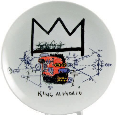 Jean-Michel BASQUIAT - 1960-88 - KING ALFONSO - THE DINGOES THAT PARK THEIR BRAIN…