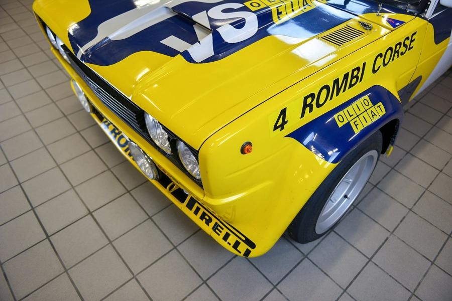 FIAT 131 ABARTH RALLY #1976 Caractéristiques techniques Marque Fiat Modèle 131 Abarth…