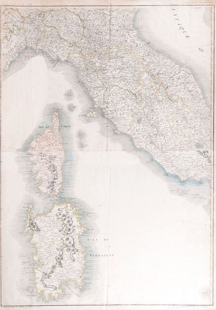 Stockdale, L. Corsica.  Feuillet XVII. Published 4.Th June 1800 by L. Stockdale…