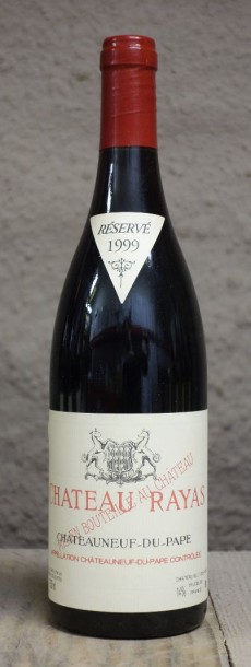 1 Bouteille RAYAS ROUGE 1999 - CHATEAUNEUF DU PAPE