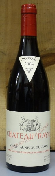 1 Bouteille RAYAS ROUGE 2004 - CHATEAUNEUF DU PAPE