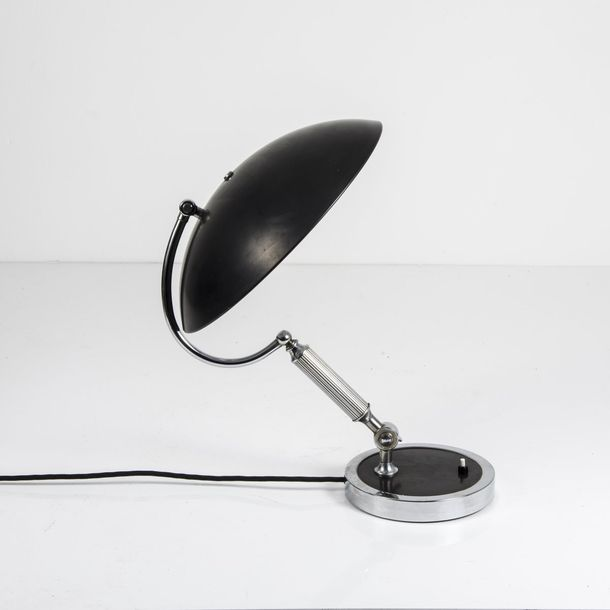 Germany, Table light, 1930s Germany, Table light, 1930s , H. 49 cm, D. 36 cm. Sh…