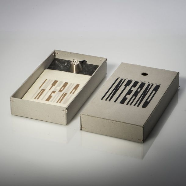 Ruudt Peters, Brooch from the series 'Interno', 1991 Ruudt Peters, Brooch from t…