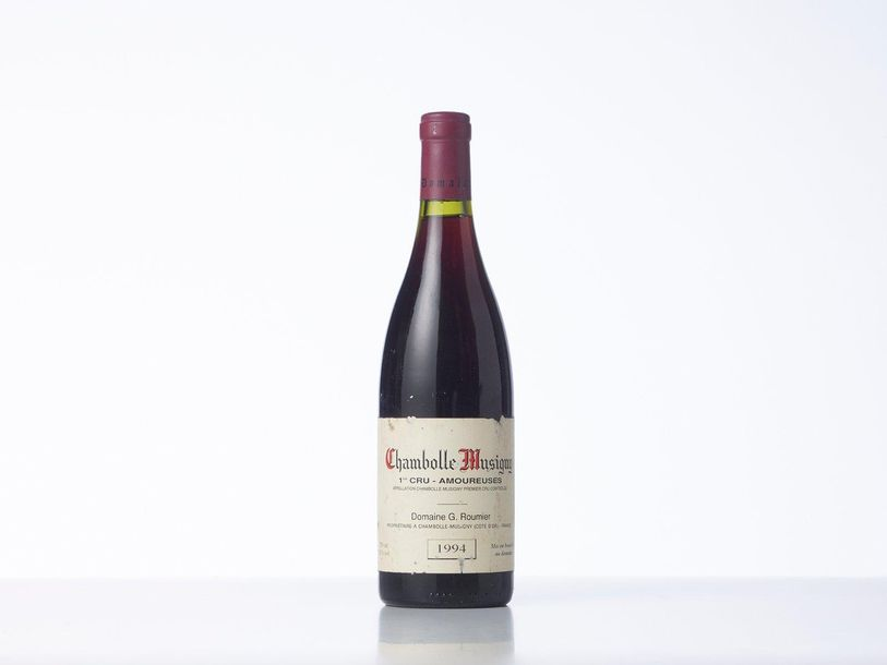 1 Bouteille CHAMBOLLE MUSIGNY LES AMOUREUSES (1° Cru)  Année : 1994  Appellation…