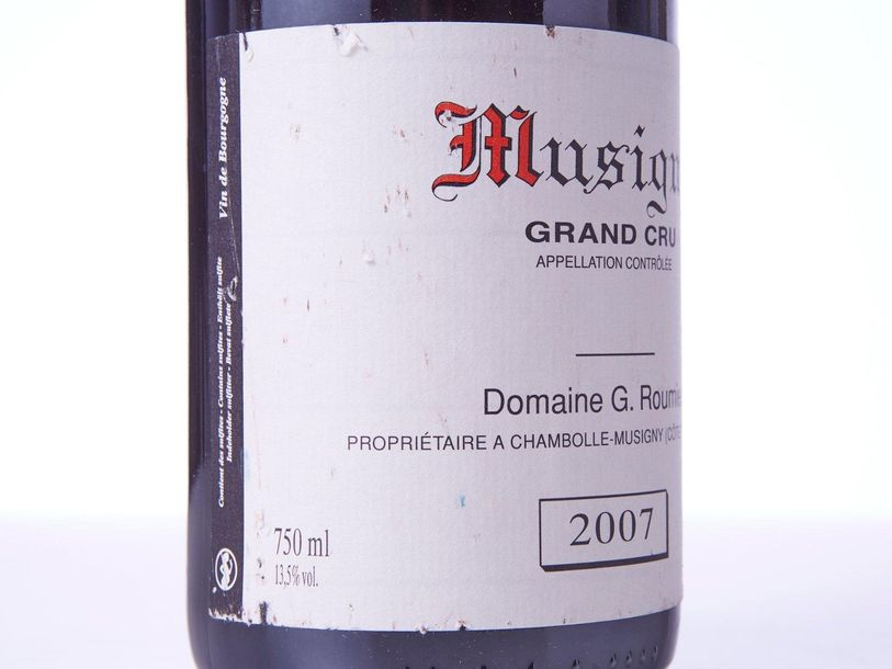 1 Bouteille MUSIGNY (Grand Cru)  Année : 2007  Appellation : Domaine Georges Rou…