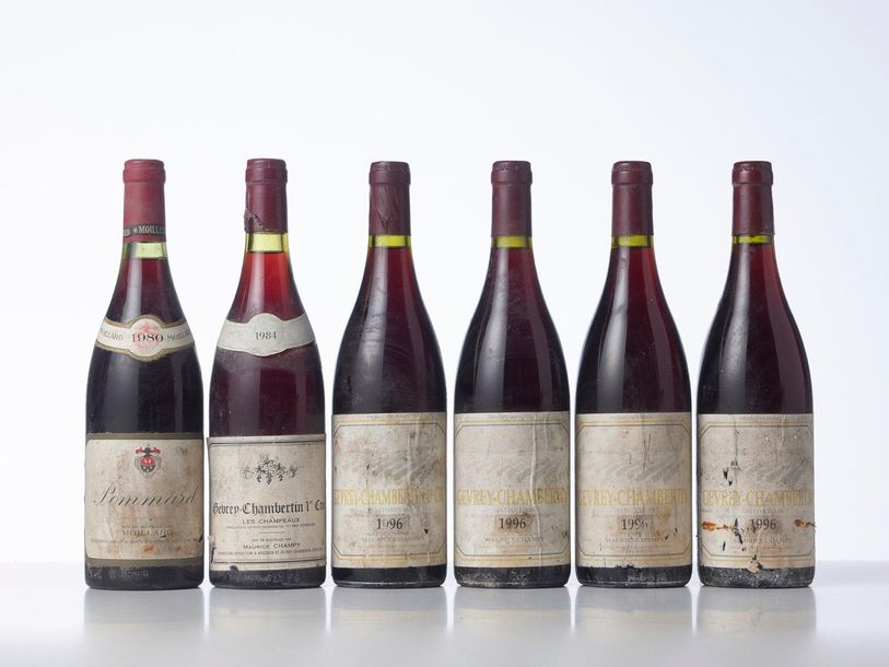 1 Bouteille GEVREY CHAMBERTIN LES CHAMPEAUX (1° Cru)  Année : 1984  Appellation …