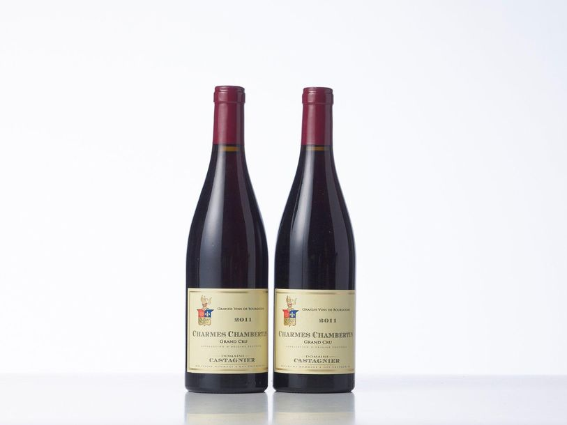 2 Bouteilles CHARMES CHAMBERTIN (Grand Cru)  Année : 2011  Appellation : Domaine…