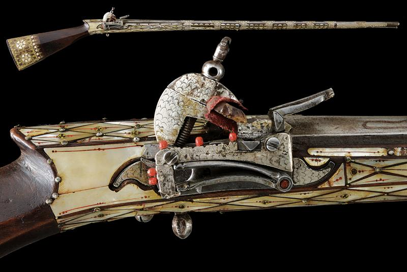 An interesting flintlock gun dating: First half of the 20th Century provenance: …