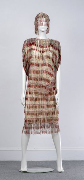 Omo Norma Kamali, Collection Prêt à Porter, circa 1978  Rare ensemble de cocktail…