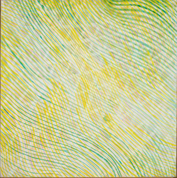 STANLEY WILLIAM HAYTER (1901-1988) SANS TITRE, 1965 Technique mixte sur toile Signée…