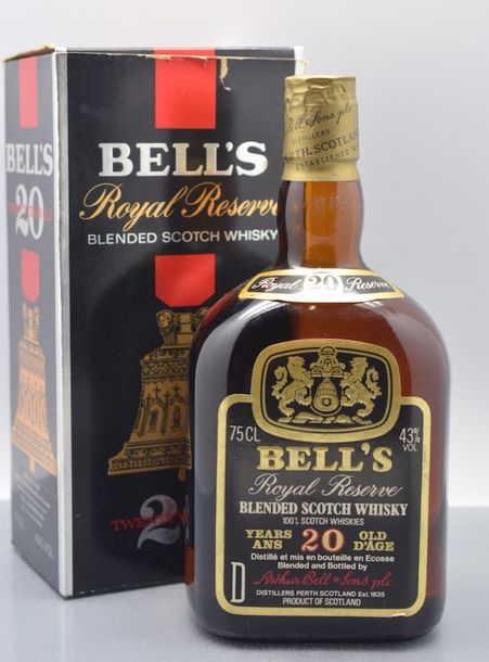 1 bouteille SCOTCH WHISKY Bell's 20 years