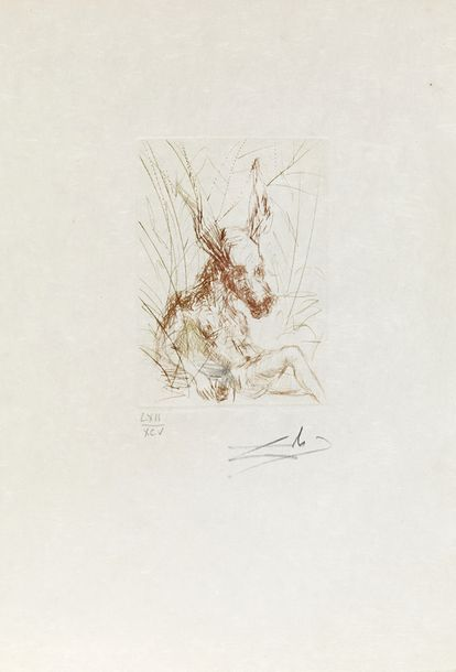 SALVADOR DALI (1904-1989) A MIDSUMMER NIGHT'S DREAM,1968 (Michler & Löpsinger, 280)…
