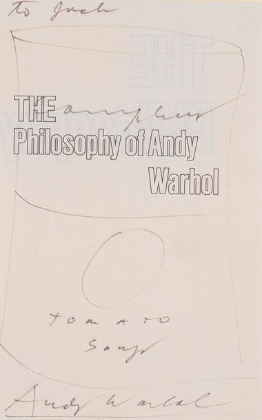 ANDY WARHOL (1928-1987) CAMPBELL'S FROM A TO B & BACK AGAIN (The Philosophy of Andy…
