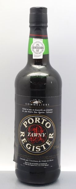 """1 bouteille PORTO """"Tawny"""", Club des Sommeliers"""