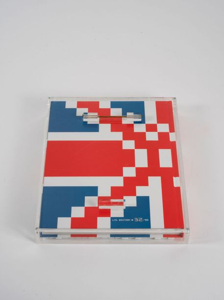 166. INVADER (NE EN 1969)  INVASION IN THE UK (GUIDE D'INVASION 03), 2008  Carreaux…