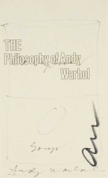 176. ANDY WARHOL (1928-1987)  CAMPBELL'S FROM A TO B & BACK AGAIN  (The Philosophy…