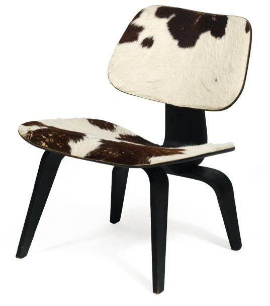 Charles et ray eames chaise lcw en contreplaqu moul - Charles et ray eames chaise ...