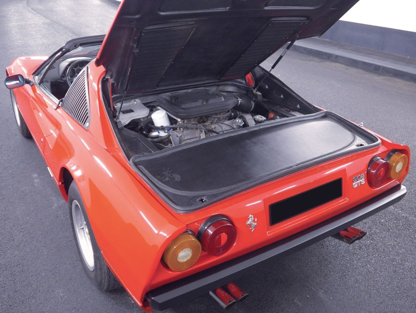 1978 FERRARI 308 GTS Carburateurs Tipo F106 AS N° de série F106AS24745 N° de moteur…